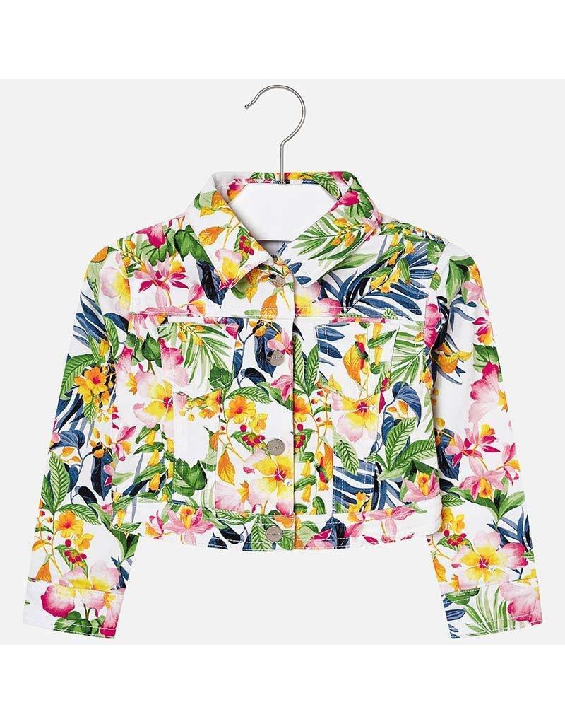 Mayoral Twill printed jacket          Nautical