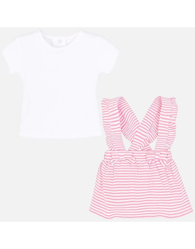 Mayoral Skirt w/suspenders set