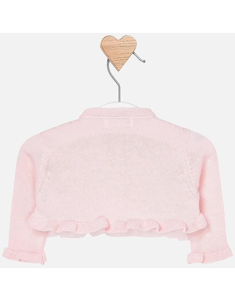 Mayoral Dressy knit cardigan baby