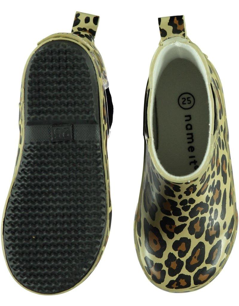 Name It Leopard regenlaars