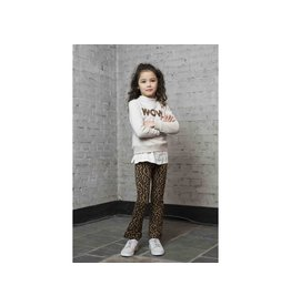 Like Flo Flo girls dot jacquard flare pant