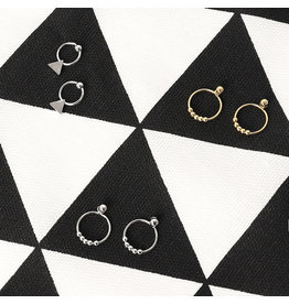 Oorbel Tiny Rounds