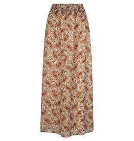 Ydence Dani maxi skirt brown