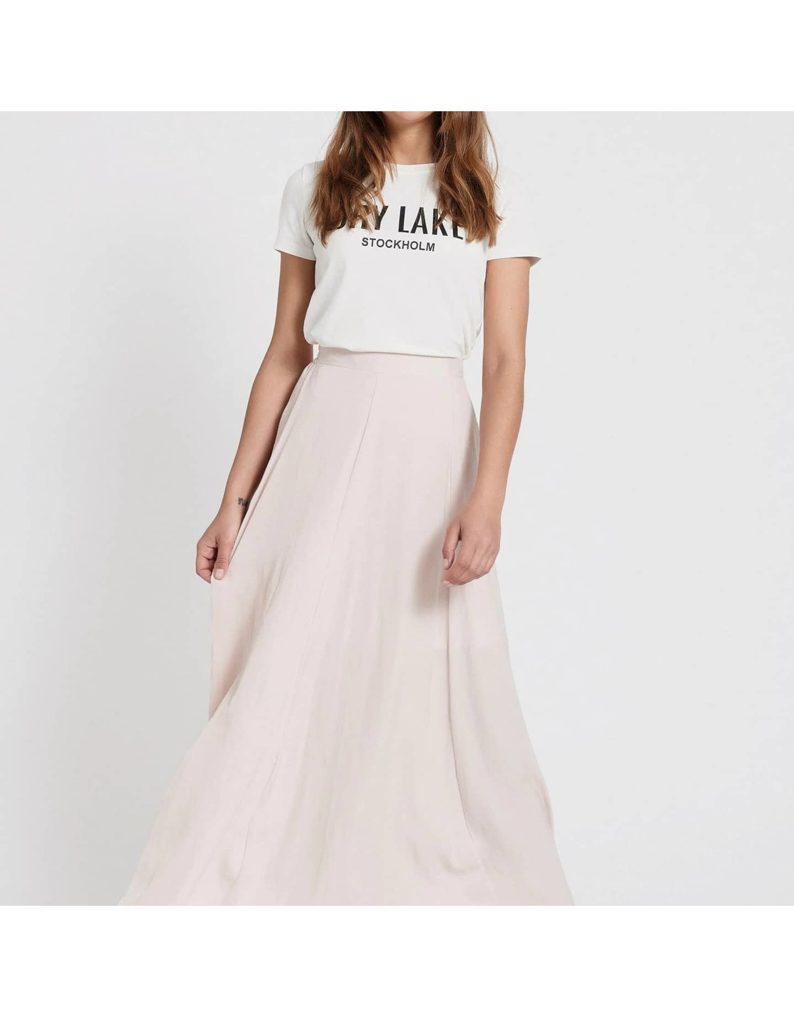 Feather rok pink
