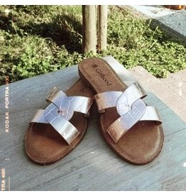 Slippers Bea rosé gold