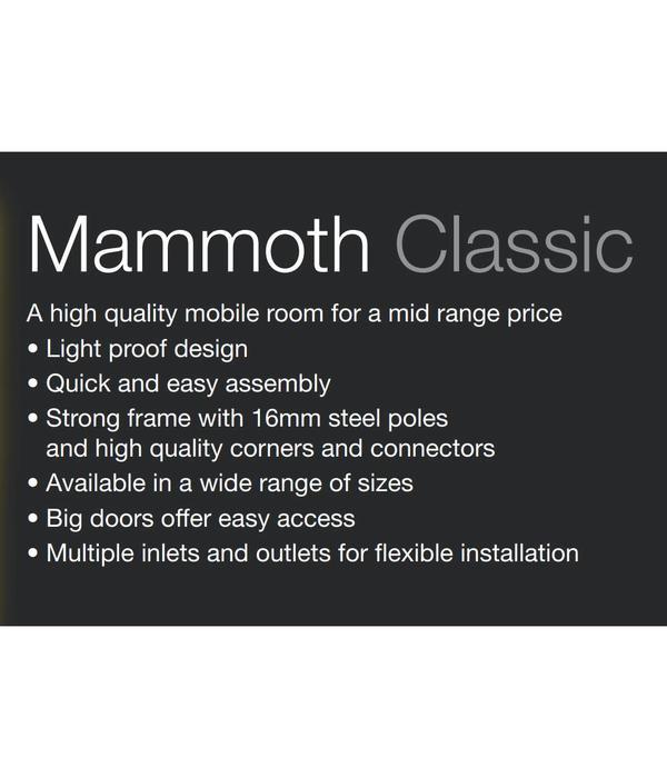 Mammoth Classic Kweektent