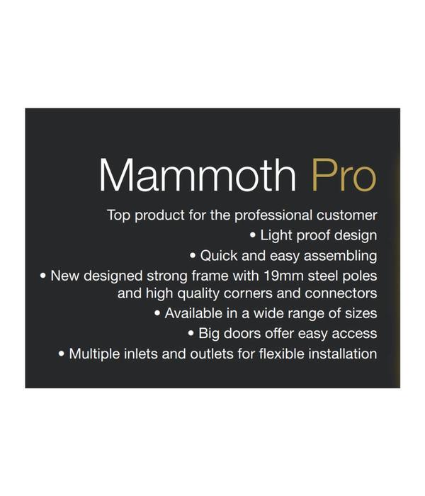 Mammoth Pro Kweektent