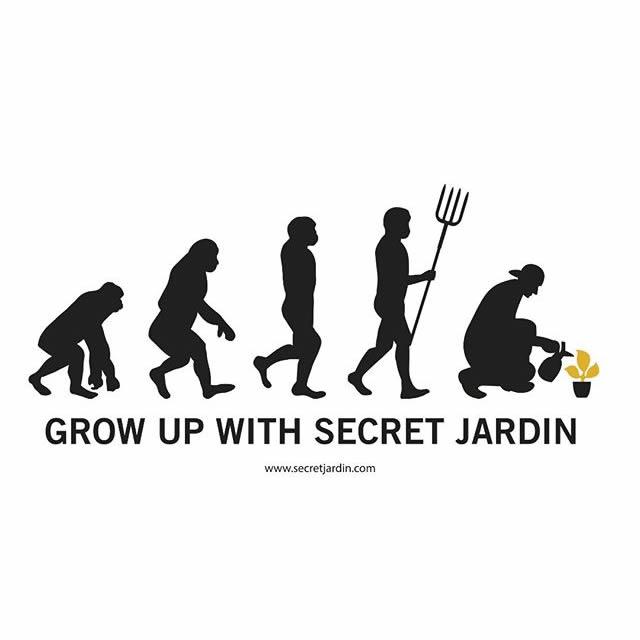 Grow Up With Secret Jardin