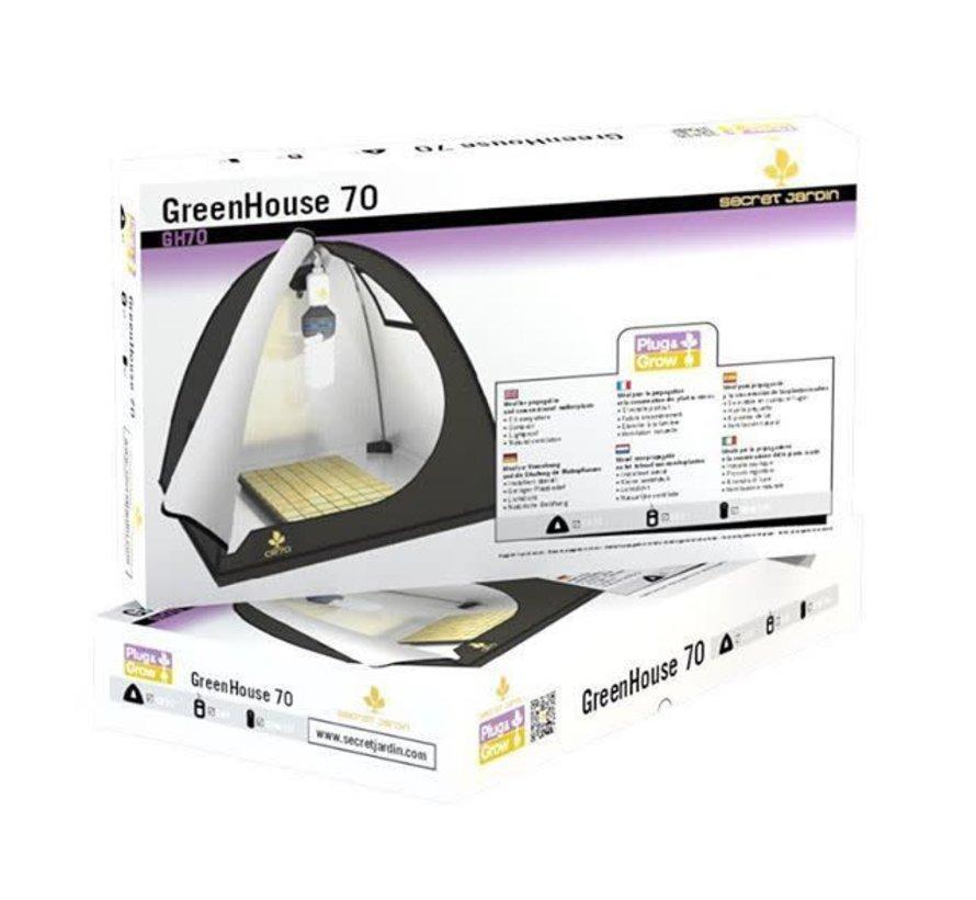 Greenhouse 70 Voorgroei Tent Compleet 65 Watt