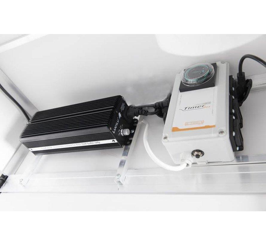 G-Tools G Kit Wing 600 HPS Growschrank 600 Watt 1.3 m2 - Voll Ausgestattet