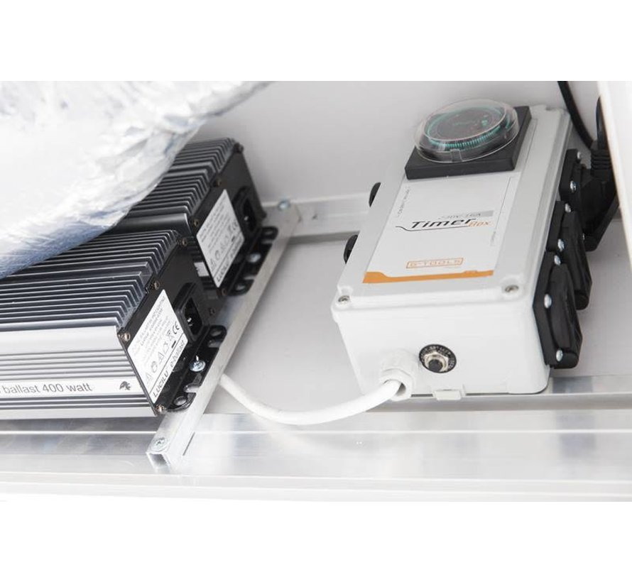 G-Tools Wing G-Kit 800 Indoor Kweekkast HPS 1200 Watt 1.5m²