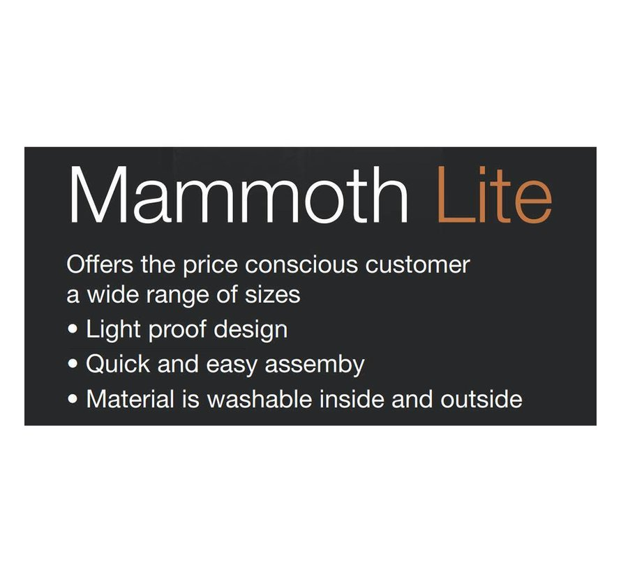 Mammoth Lite 240L+ Kweektent 240x120x200 cm