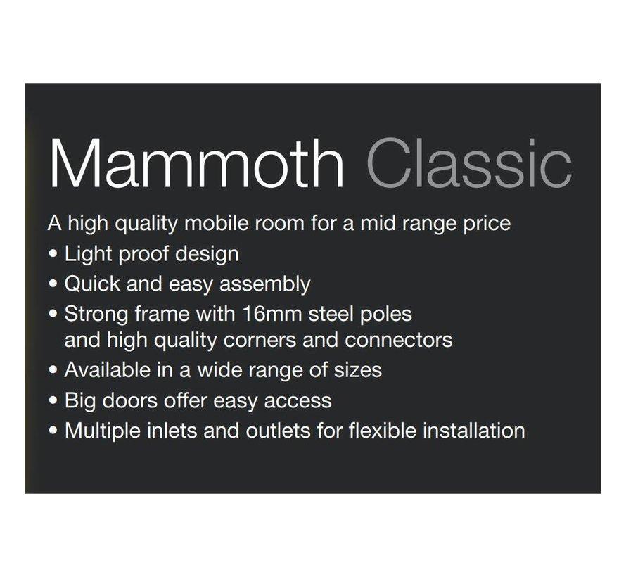 Mammoth Classic 120+ Growbox 120x120x200 cm