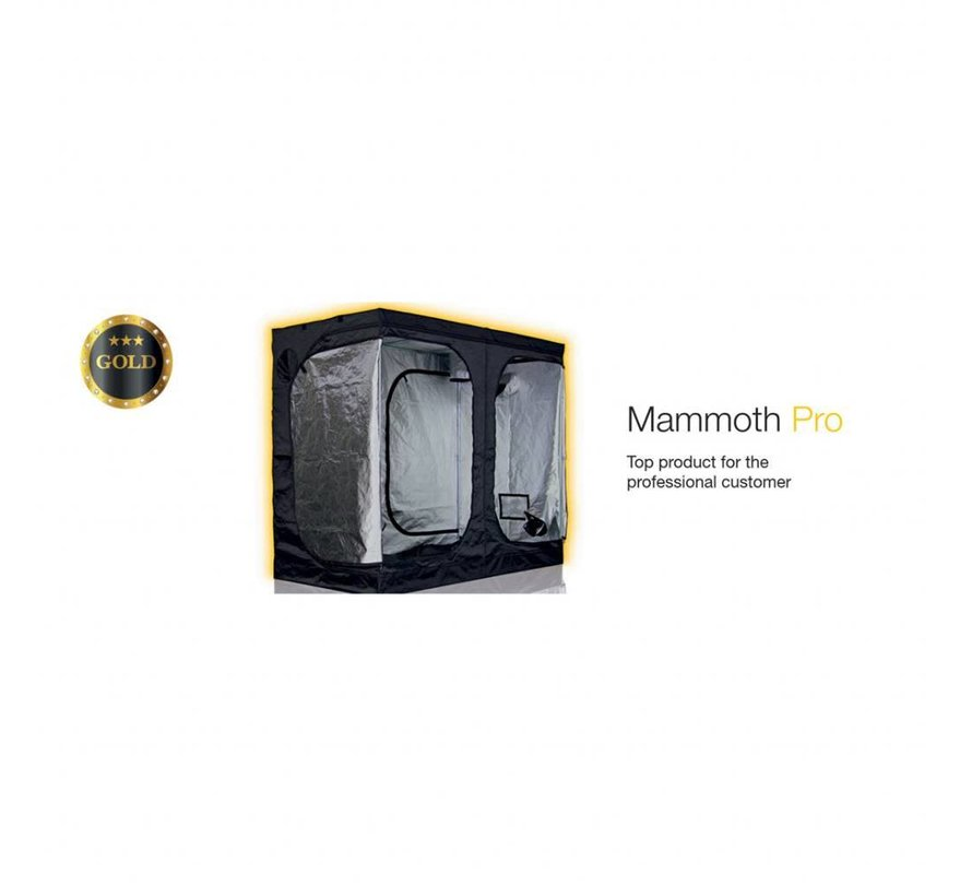 Mammoth Pro 240L+ Growbox 240x120x200 cm