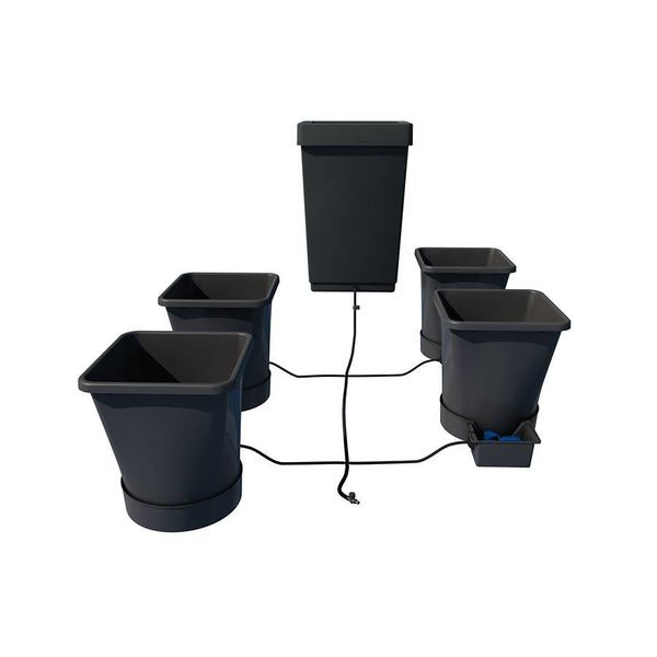 1Pot XL 4 potten systeem Starter Set met vat