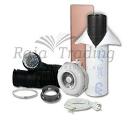 Can Fan RK 125L Belüftungsset 600w max 350 m³/h