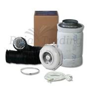Can Fan RK 200 Kit de Ventilación 1600w max 820 m3 /h