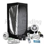 Mammoth Lite 60+ Grow Tent Kits 2x55W Neon Set 60x60x140 cm