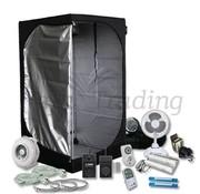Mammoth Lite 90+ Growbox Komplettset 2x75W Neon Beleuchtung 90x90x180 cm