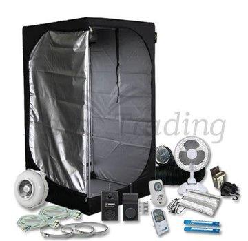 Mammoth Lite 90 Grow Tent Compleet 2x 75 Watt 90x90x160