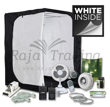 Mammoth Ivory 150 Grow Tent Compleet 600 Watt 150x150x200