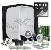 Mammoth Ivory 150 Grow Tent Kit 2x 600 Watt 150x150x200