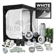 Mammoth Ivory 240L Grow Tent Kit 2x 600 Watt 240x120x200