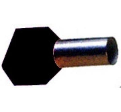 Pershuls geisoleerd twin 2 x 1.5mm²