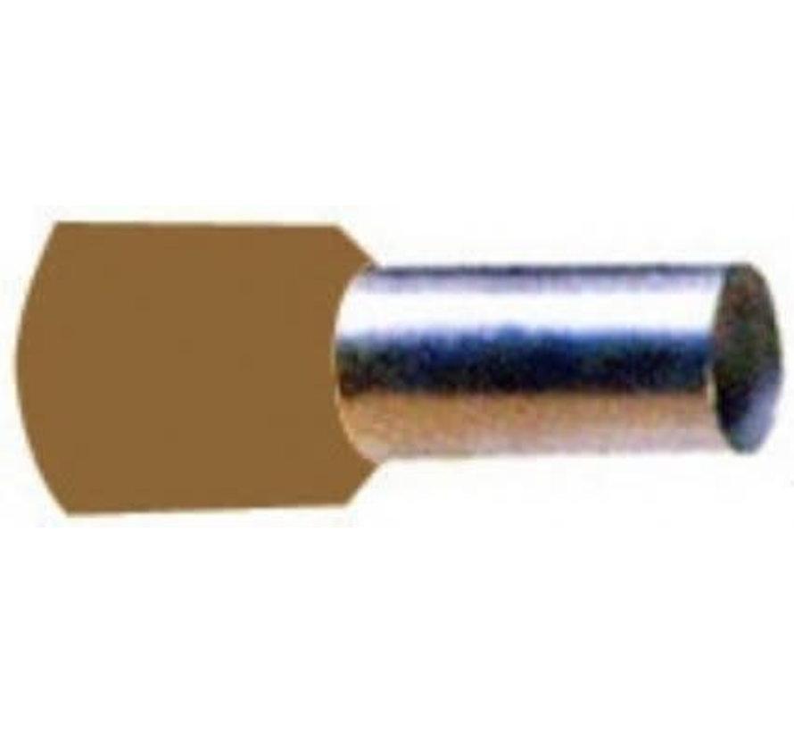 Pershuls geisoleerd 10.0mm²