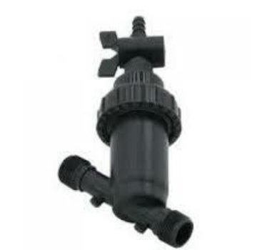 Waterfilter + kraan excl 2x PE koppeling binnendraad 1 inch