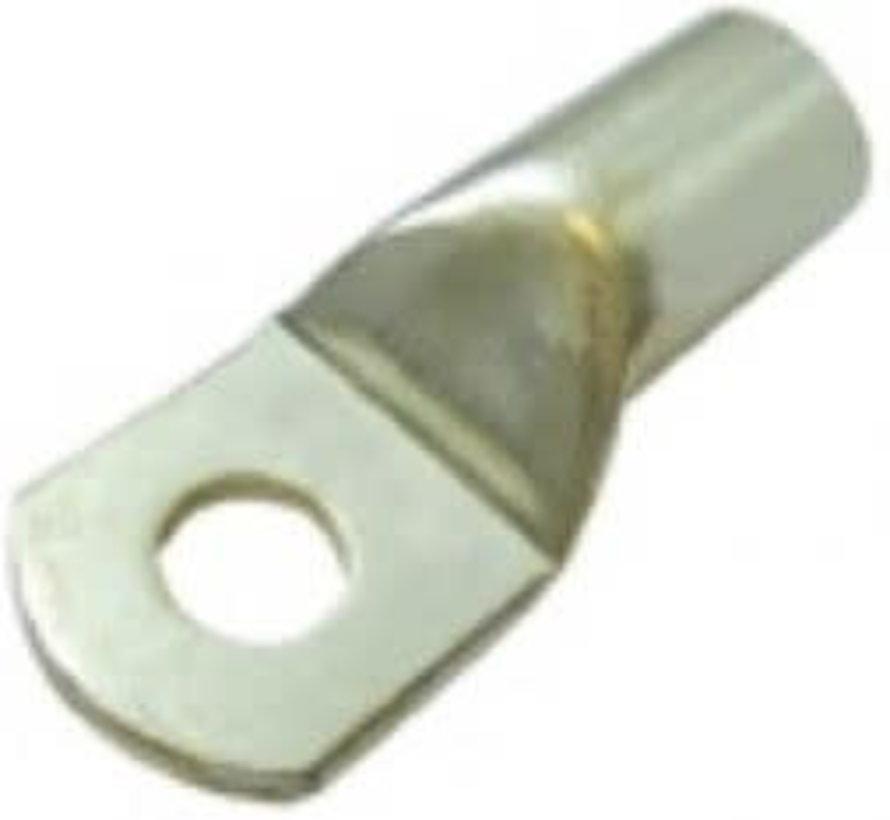 Ongeisoleerde kabelschoen BM=6,4 10mm²