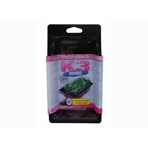K3 Minikas met wonderaarde en tuinkers