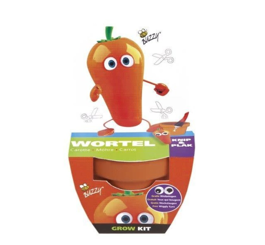 Buzzy Kids Grow Kit Wortel