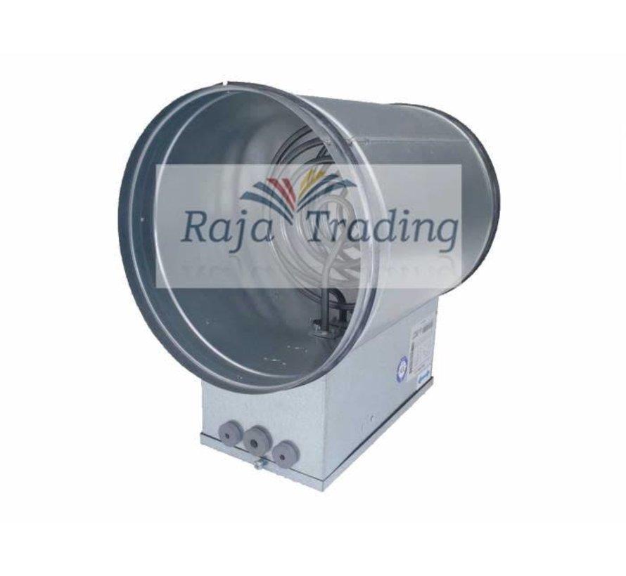 Elektrische Kanaalverwarmer 160 mm 2,4 kW