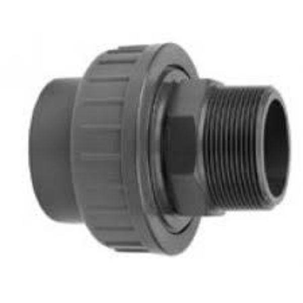 VDL Koppeling 25 mm Buitendraad 1 inch