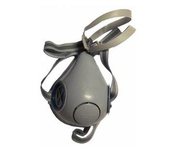 Halfmasker met dubbel filter