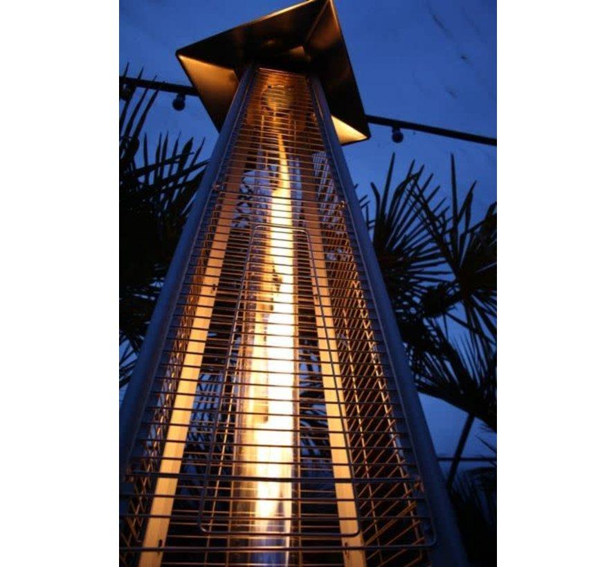 Eiffel RVS Flameheater