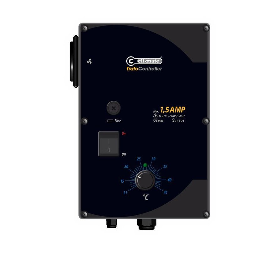 Cli-Mate Trafo Controller 1,5A of 2,5A