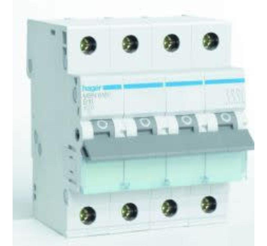 Automaat 63A B 4P 3-polig +N MBN663E
