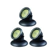 AquaKing Teichbeleuchtung LED 60 Set 3 Stück