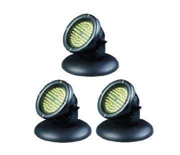 AquaKing Iluminación del estanque LED 60 set 3 piezas