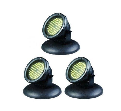 AquaKing LED 60 Vijververlichting 4 Watt setje 3 stuks
