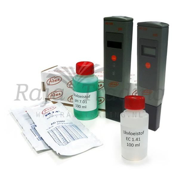 pH EC Meter Set