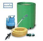 AquaKing Barril de Agua 160 Litros Set de Riego
