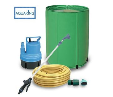 AquaKing Wasserfass 160 Liter Bewässerungsset