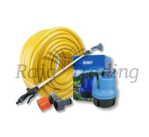 AquaKing Q2007 Dompelpomp 3600 liter per uur Irrigatieset