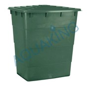 AquaKing Water Tank 300 Liter Rectangle 60x89x80 cm with Lid