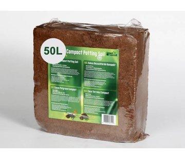 Kokosnuss-Blumenerde Kompakt 50 Liter