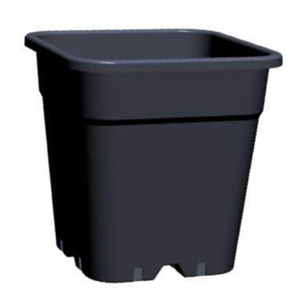 Kweekpot Vierkant 11 Liter 24x24 cm Zwart