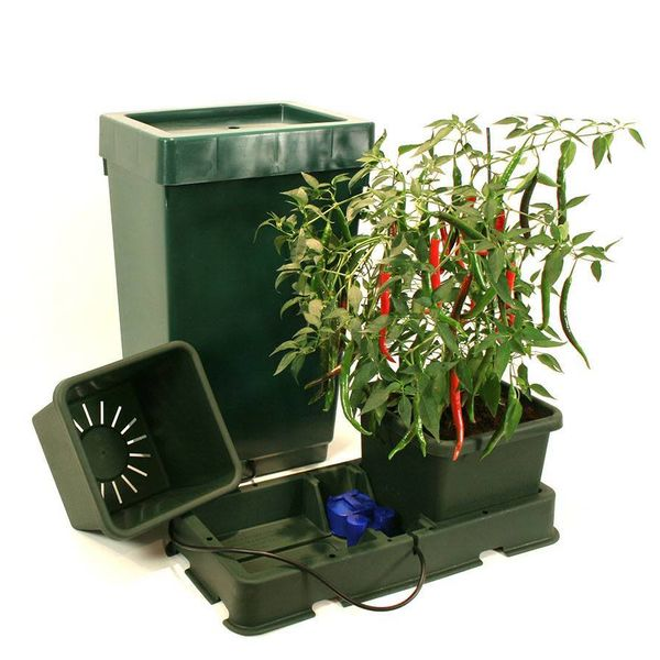 Easy2Grow 2 Potten Systeem Starter Set Met Vat
